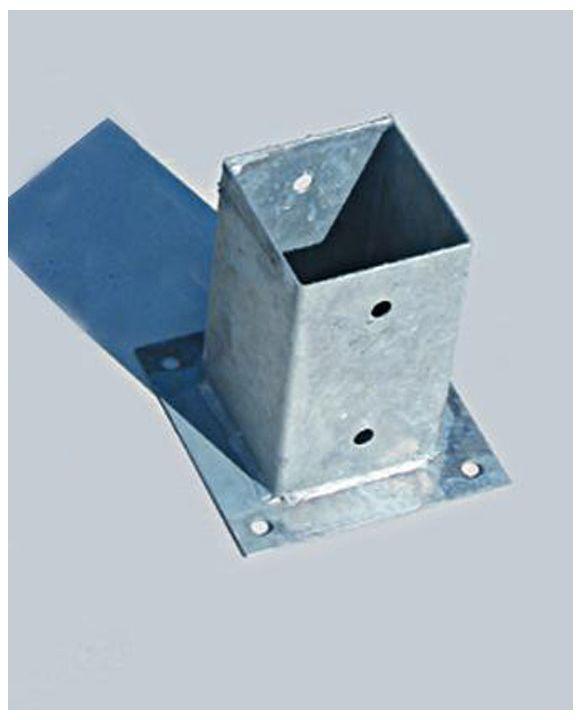 Metalowa podstawka do kantówki